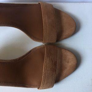 Tory Burch Shoes - Tory Burch Savannah Suede Demi-Wedge Sandals_6